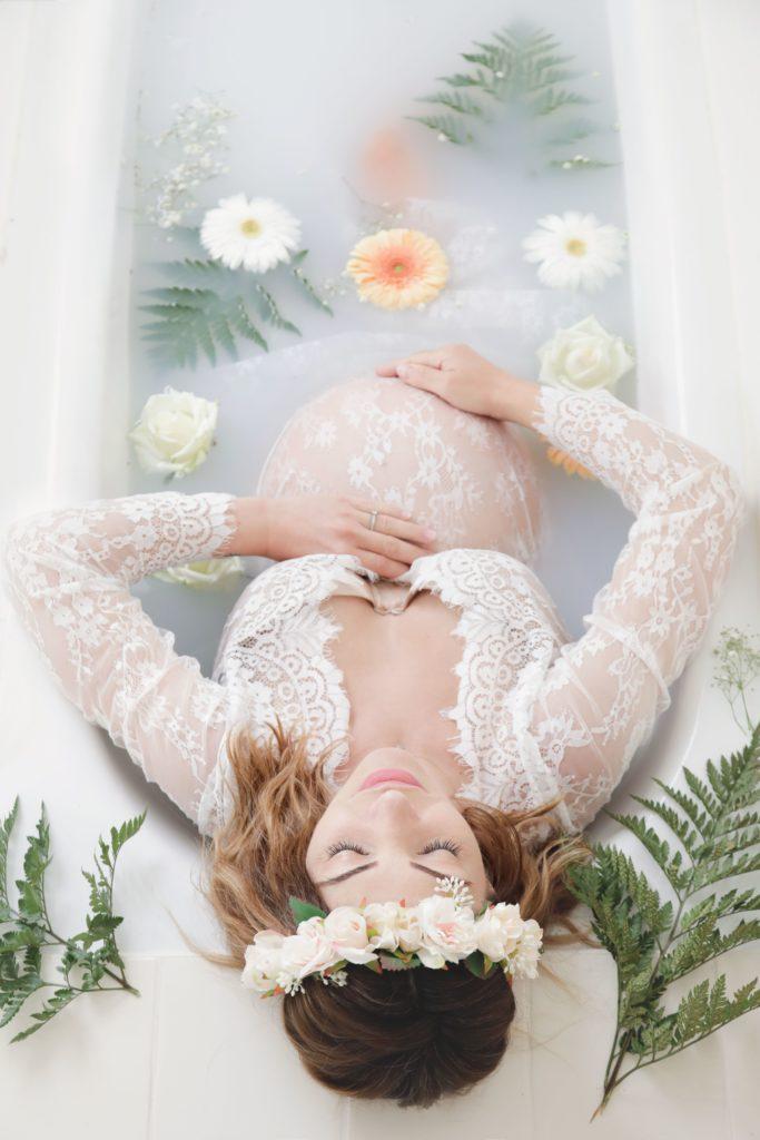 Julie charles - Photo de grossesse